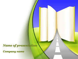 Road To Knowledge Country Free Presentation Template For