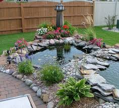 Small Picture small fish pond landscape Fish Pool Design Detect a fish pond