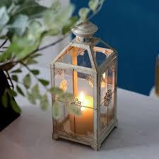 luxury metal outdoor candle