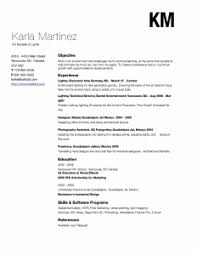 Karla Martinez resume