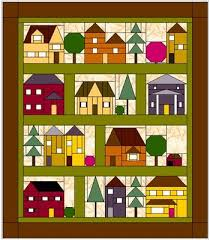 Come Over to My House; free BOM from Forever Green Quilts | House ... & Forever Green Quilts is offering a free block of the month quilt in This  cute house quilt is called
