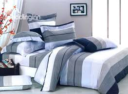 blue and white striped bedding dark blue white and grey color stripe 4 piece bedding sets