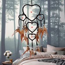 Big Dream Catcher For Sale Sale 100PC Big Dream Catcher Net Handmade Feather Pendant Window 25