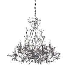 antique lighting for sale uk. almandite antique silver 12 light chandelier with crystal dressing lighting for sale uk r