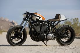 harley sportster cafe racer flat track with 883ci motor bikes