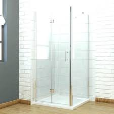 rv pleated shower door installation doors retractable