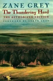 Resultado de imagen de The Thundering Herd Zane Grey