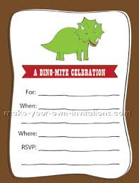 make your own birthday invitations free printable printable dinosaur party invitations free birthday party