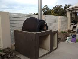 woodfired oven base design