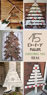 outdoor pallet christmas tree. 15 amazing diy pallet christmas tree ideas outdoor n