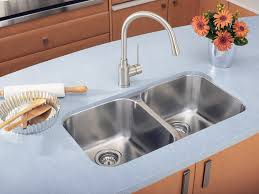 picture of blanco 400008 essential u 2 31 double bowl stainless undermount kitchen sink