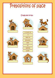9 best prepositions of place ESL English worksheets images on ...