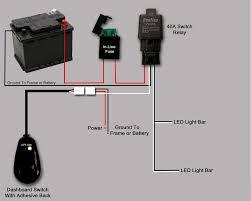 led light bar wiring wiring diagram