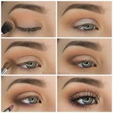 step by step simple pretty eyeshadow tutorial