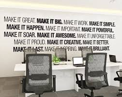wall art for office. Office Wall Art - Corporate Supplies Decor Typography For I