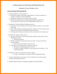 Resume Career Goal Examples Occupational goals examples resumes best of career objective 20