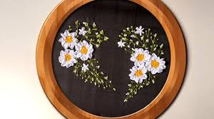 hand embroidery ribbon heart wall decorating ideas handiworks 94 you