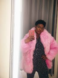 pink faux fur fashion blog mom style blog coat mama wants a superfly faux fur coat