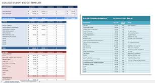 Sample Budget Spreadsheet Excel Free Financial Planning Templates Smartsheet