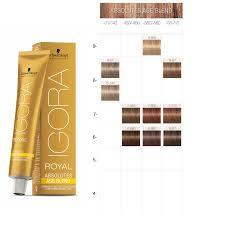 Igora Color Chart Schwarzkopf Professional Igora Royal Absolutes Age Blend