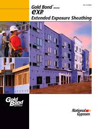 Exp Extended Exposure Sheathing National Gypsum Pdf Catalogues