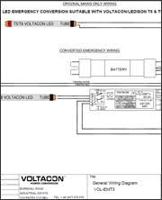 emergency pack for led t8 tubes voltacon t8 t5 emergency conversion pack