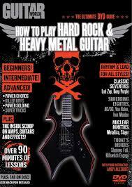 Guitar World How To Play Hard Rock Heavy Metal Guitar