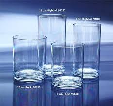 plastic 8 oz drinking glasses libbey