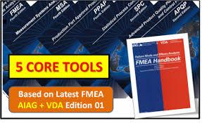New aiag‐vda fmea manual support. Core Tool Apqp Ppap Msa Spc Fmea With New Fmea Aiag Vda