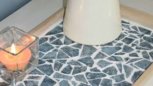 How To Create A Beautiful Mosaic Tray From Old Tiles - DIY Home Tutorial -  Guidecentral - YouTube