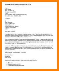 Property Management Cover Letter Accurate Representation Letters
