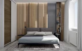 Small Picture Bedroom Lovely LED Lit Wooden Wall Panelling Ideas With Grey
