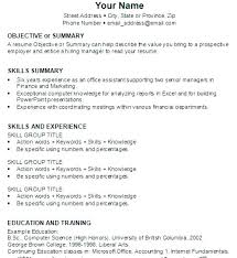 Resume Building Tips Resume