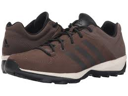 men s adidas daroga plus leather outdoor shoes ad 4134500 brown black simple brown