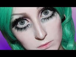 mice phan graduation makeup anime huge eyes makeup transformation tutorial pt 2