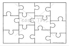 Printable Jigsaw Puzzle Maker Free Puzzle Template Download Free Clip Art Free Clip Art