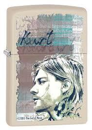 Купить <b>Зажигалка ZIPPO Kurt Cobain</b> с покрытием Cream Matte ...