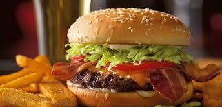 gourmet bacon cheeseburger