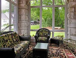 outdoor spaces sunroom limestone columns home remodeling construction companies in st louis mo