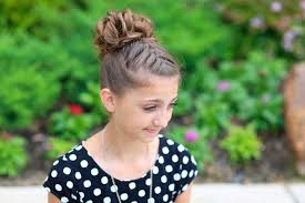 French Braid Updo Hairstyles Double French Messy Bun Updo Cute Girls Hairstyles