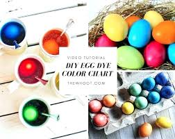 Egg Dye Color Chart Food Coloring Color Chart Mix Glenbuchat Info