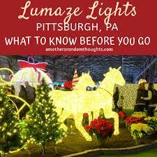 Pittsburgh Social Lights Christmas Lights Lumaze Pittsburgh A Mothers Random
