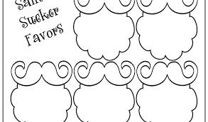 Printable Face Templates Delectable Mustache Template Printable Free Printable Lips Template Mustache