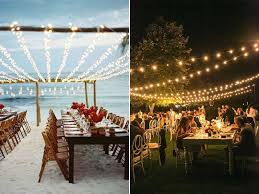 outdoor lighting for a wedding ideas best diy on string lights ad fa