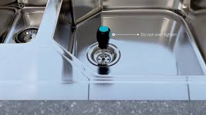 Plumbing  How To Replace My Kitchen Sink Basket With No Lock Nut How To Replace A Kitchen Sink Basket Strainer