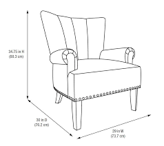 better homes gardens accent chair