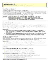 public relations sample resume public service resume objective sample resume objectives sample
