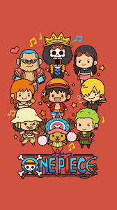 Cute Lovely One Piece Cartoon Poster ...