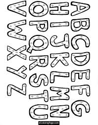 Free Alphabet Coloring Sheets For Preschoolers Free Alphabet