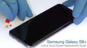 samsung tv screen replacement. samsung galaxy s8+ lcd \u0026 touch screen replacement guide - repairsuniverse tv d